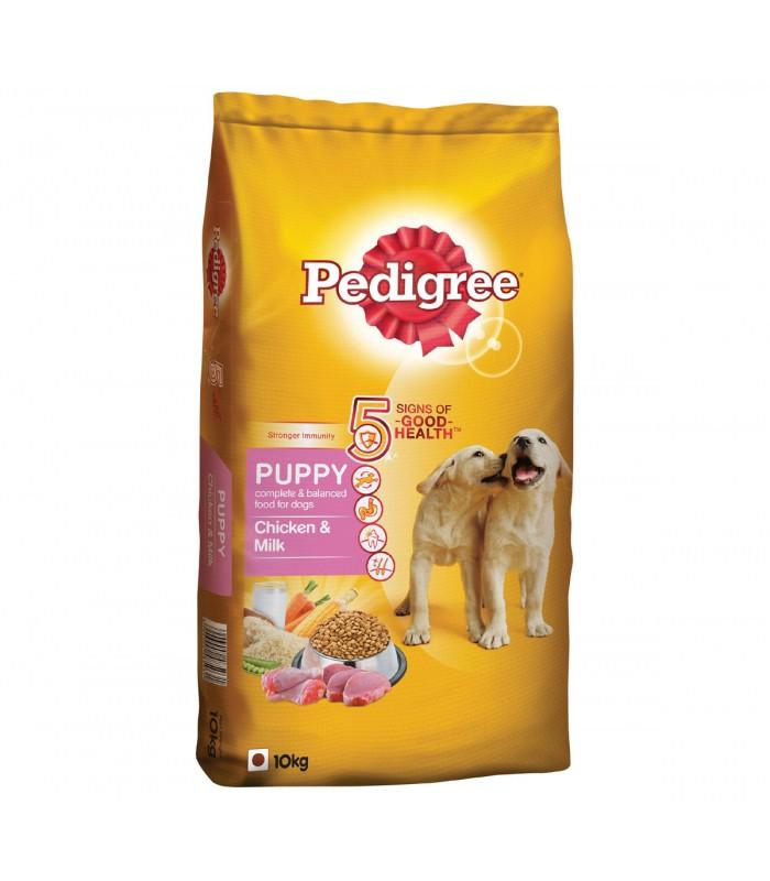 Pedigree Dog Food Puppy Chicken Milk 10 Kg Buy Pet Supplies